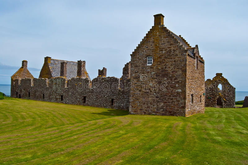 Dunnottar Castle royalty free stock photography