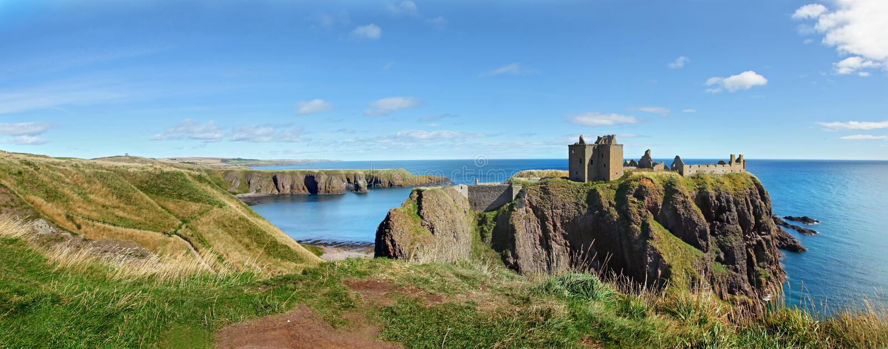 Dunnottar-Schloss, Schottland, Europa lizenzfreie stockfotografie