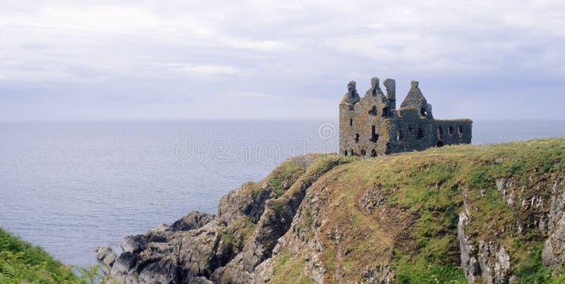Dunskey-Schloss, Portpatrick, Schottland lizenzfreies stockbild