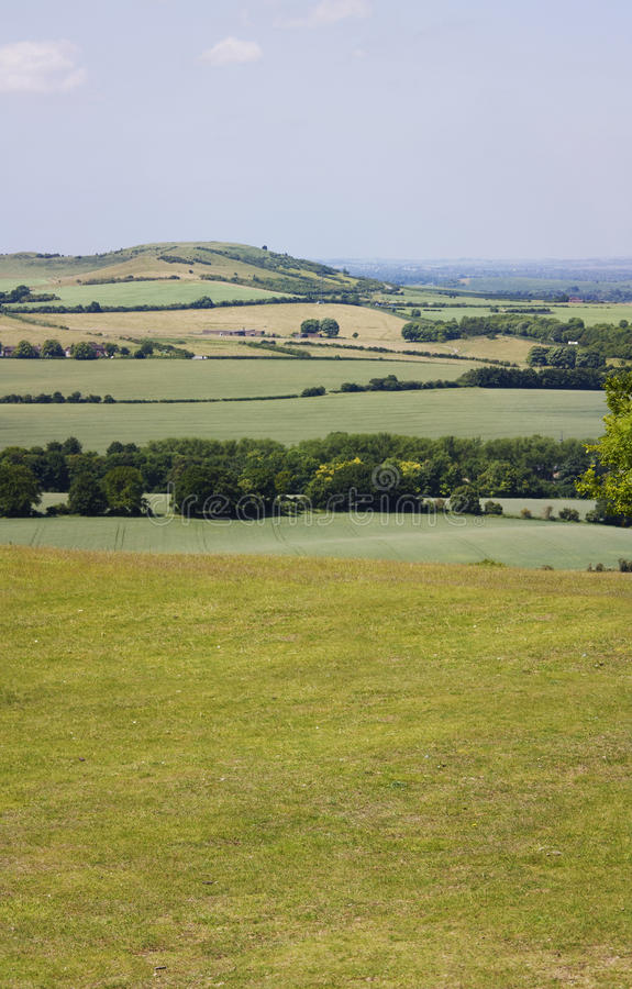 Download Dunstable Downs Countryside In England Stock Image - Image: 10057661