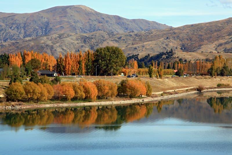 dunstan отражение озера стоковые изображения rf
