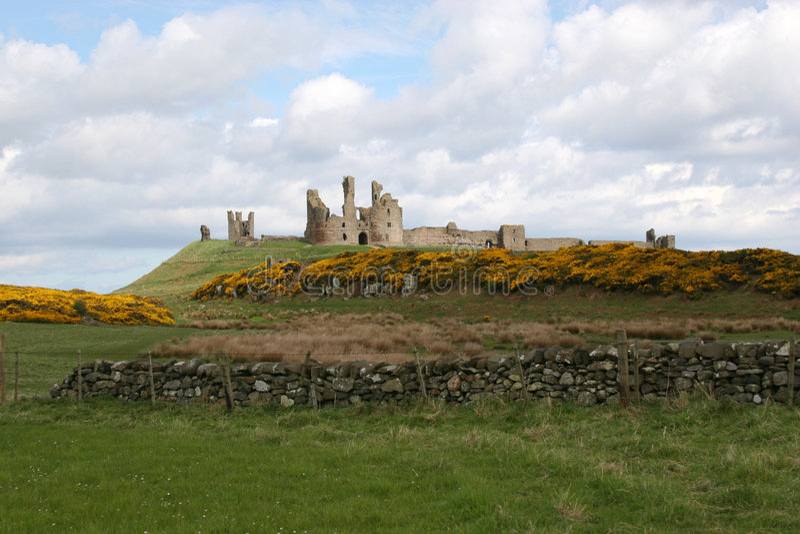 Download Dunstanburgh Castle. stock photo. Image of north, castle - 8361622