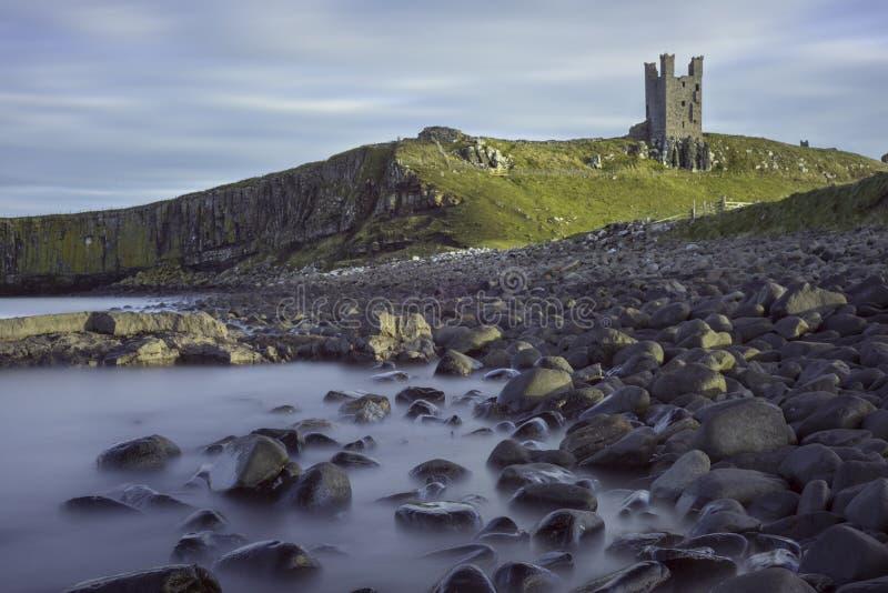 Dunstanburgh Castle from beach