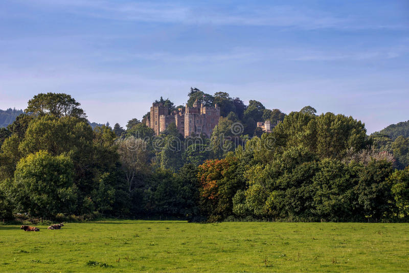 Dunster Castle in Somerset England royalty free stock images
