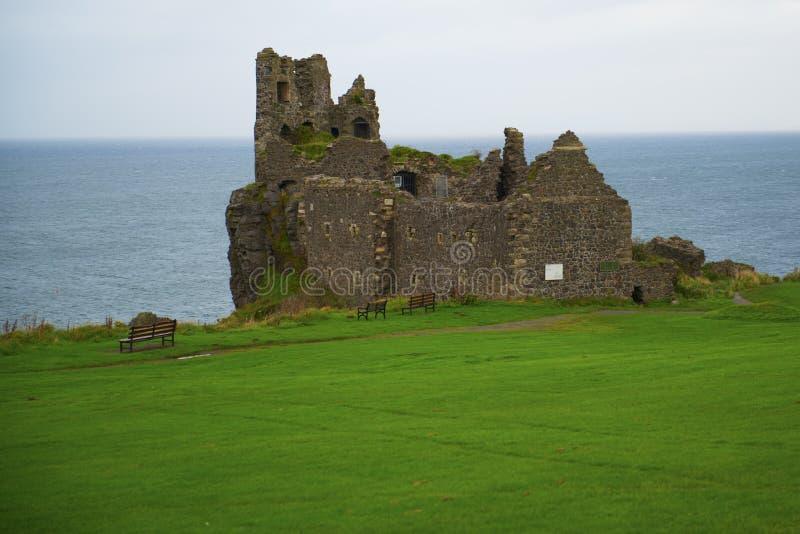 Dunure castle royalty free stock photos