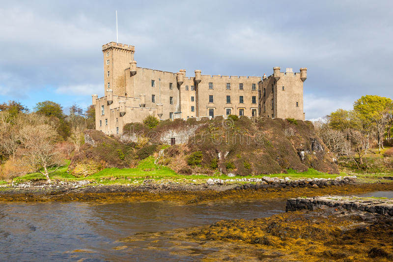 Dunvegan Castle on the Isle of Skye, Scotland royalty free stock photography