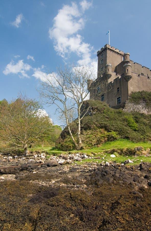Dunvegan Schloss lizenzfreies stockfoto