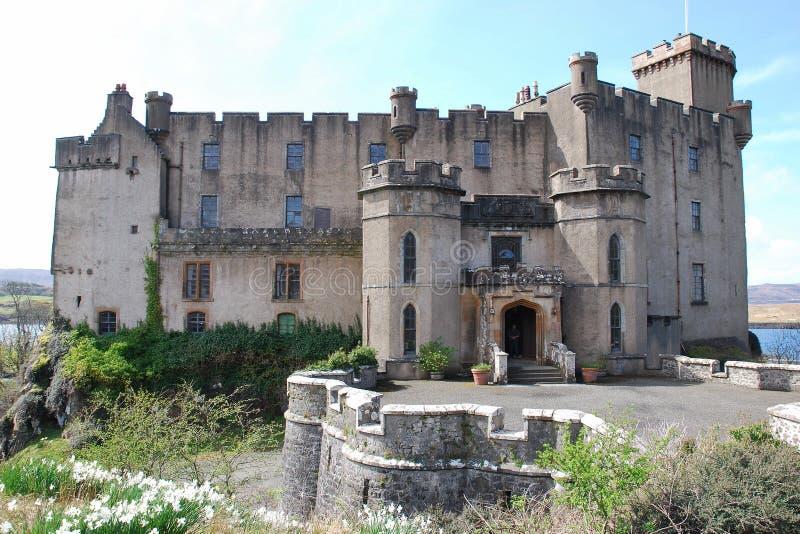dunvegan slott royaltyfria bilder