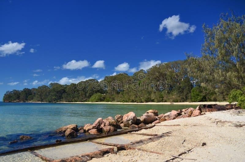 Dunwich, Queensland lizenzfreies stockfoto