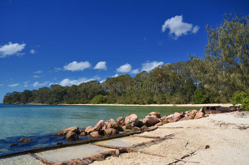 Dunwich, Queensland royalty free stock photo