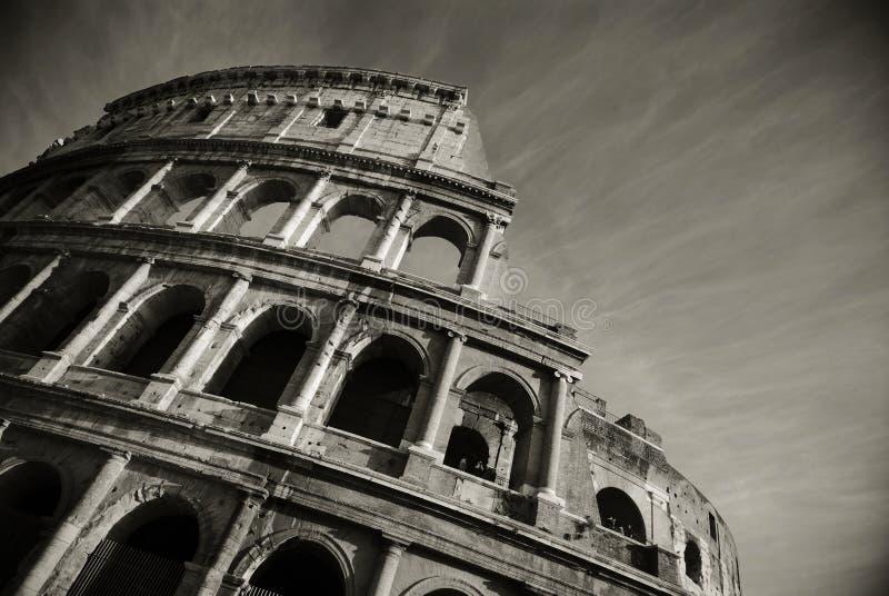 Duo de Colosseum imagem de stock