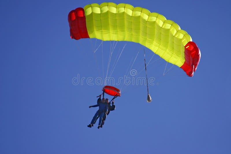 Duo de deltaplane images stock