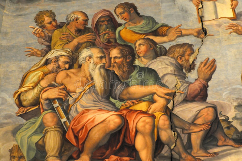 The duome of florence stock images