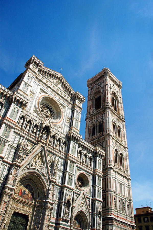 Duomo ή καθεδρικός ναός της Φλωρεντίας στη Φλωρεντία στοκ εικόνα με δικαίωμα ελεύθερης χρήσης