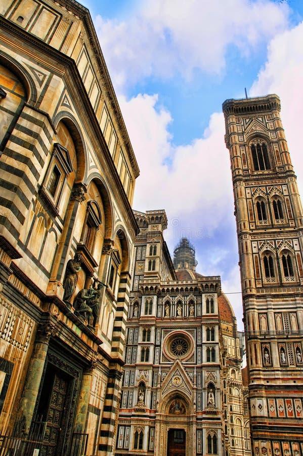 Duomo ή καθεδρικός ναός της Φλωρεντίας στη Φλωρεντία στοκ εικόνες