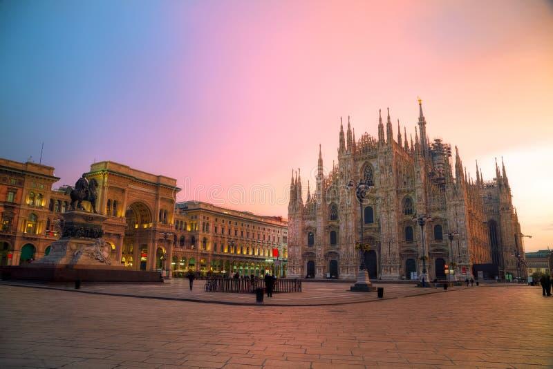 duomo Ιταλία Μιλάνο καθεδρικώ στοκ εικόνες με δικαίωμα ελεύθερης χρήσης