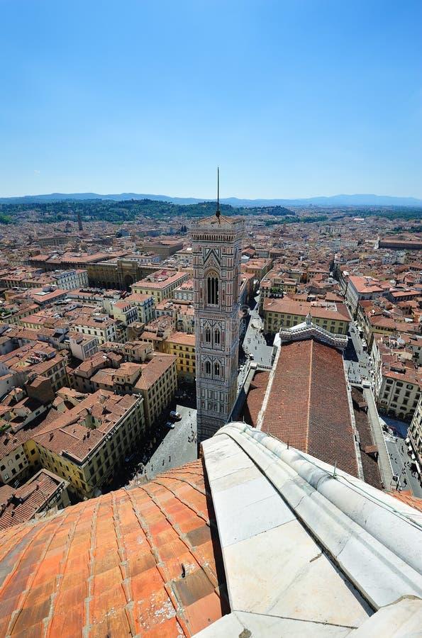 Duomo και campanila Giotto στη Φλωρεντία στοκ εικόνες