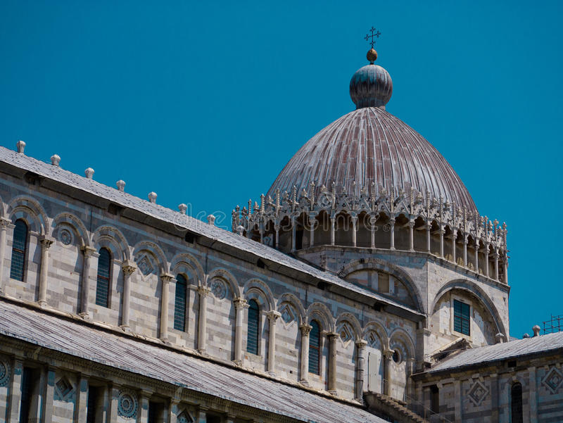 Duomo, Πίζα στοκ εικόνα
