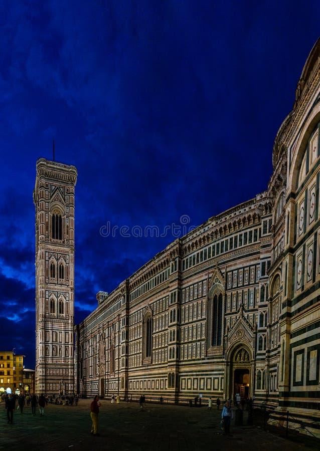 Duomo του καθεδρικού ναού της Φλωρεντίας στη Φλωρεντία, Ιταλία στοκ εικόνες