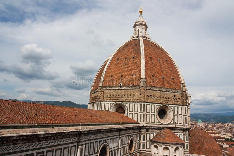Download Duomo Basilica Cathedral Church, Firenze, View From Giotto's Bel Stock Image - Image: 34192417