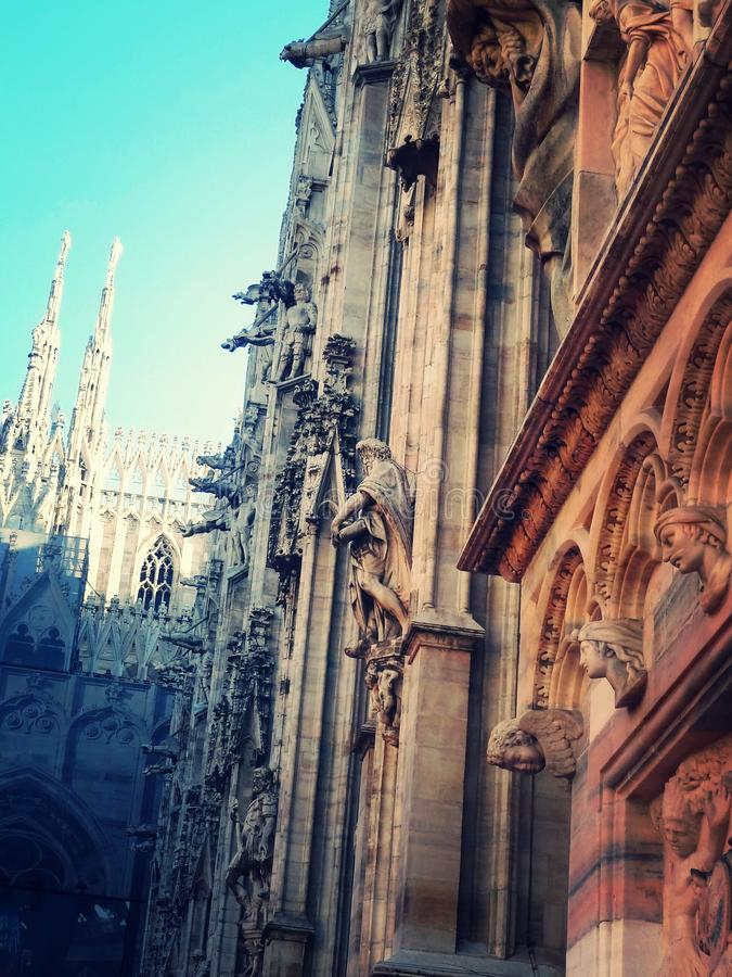 duomo royalty free stock photos