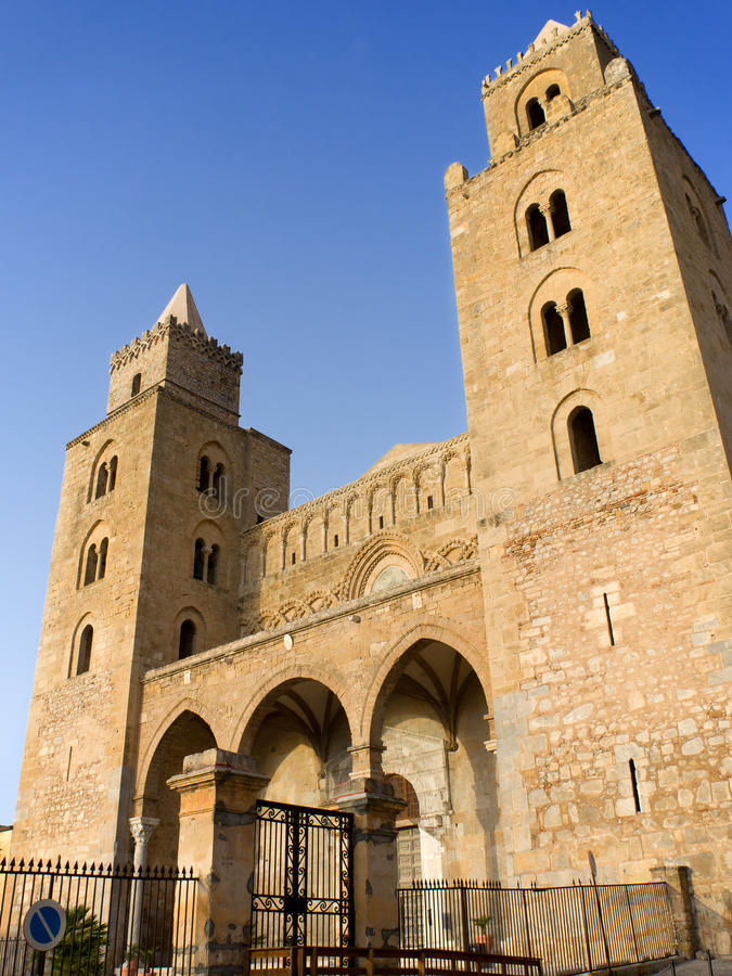 Download Duomo Cathedral Of Cefalu, Sicily Stock Image - Image: 26029163