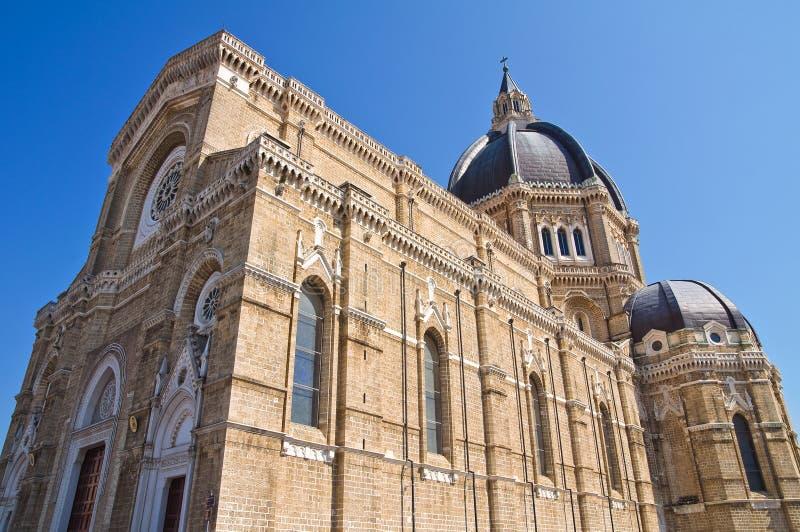 Duomo Cathedral of Cerignola. Puglia. Italy. Perspective of the Duomo Cathedral of Cerignola. Puglia. Italy royalty free stock photography