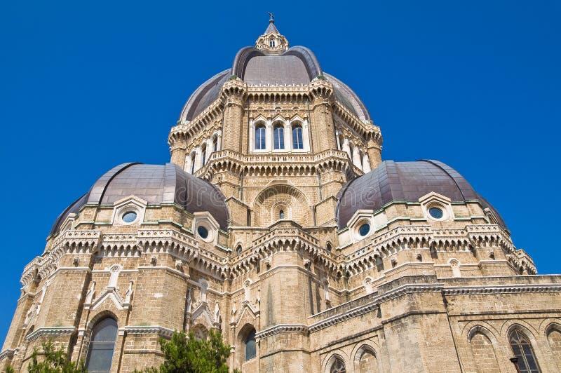 Duomo Cathedral of Cerignola. Puglia. Italy. Perspective of the Duomo Cathedral of Cerignola. Puglia. Italy stock photos
