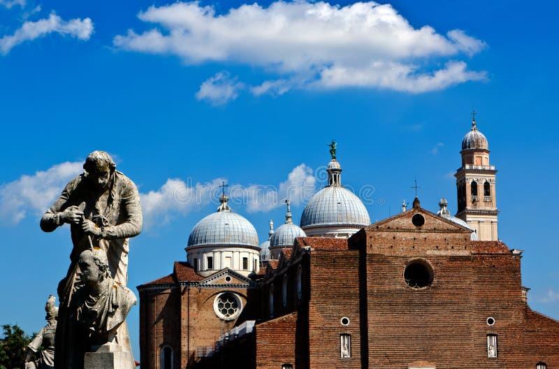 Duomo Cathedral, Padua, Italy stock photo