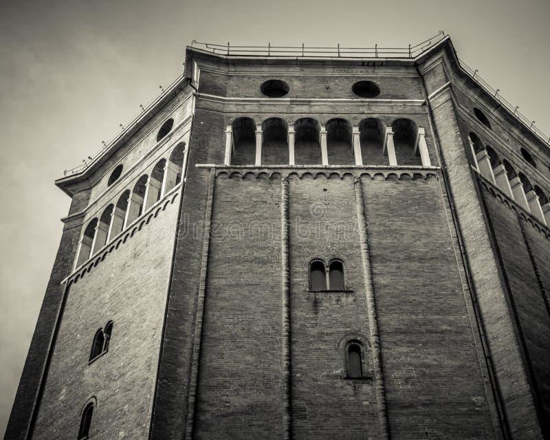 Duomo of Cremona baptistery royalty free stock photography