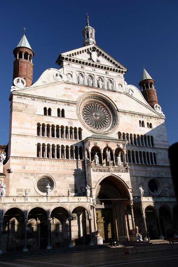 Duomo, cremona, italy stock photos
