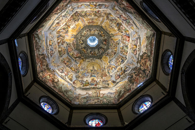 Duomo Cupola - Florence Italy royalty free stock images
