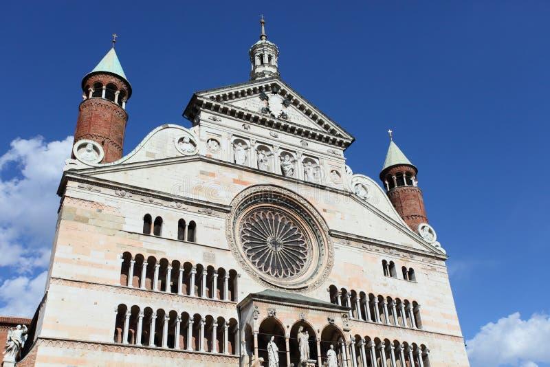 Duomo de Crémone, Italie photo libre de droits