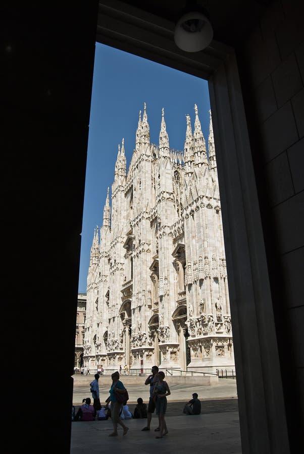 Duomo de Milano imagenes de archivo