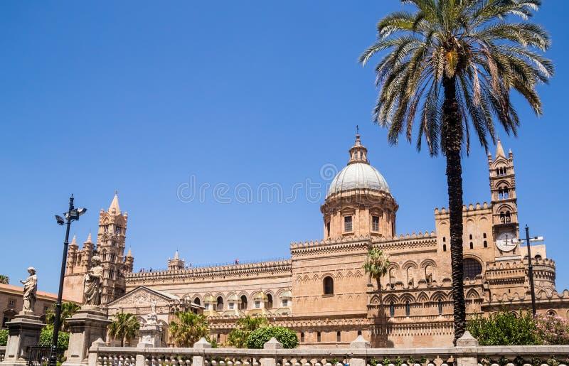 Duomo de Palermo, di Palermo, metropolitana de Cattedrale de Cattedrale foto de archivo
