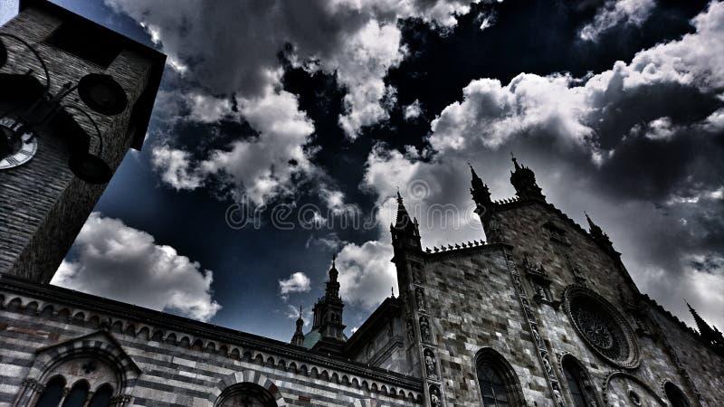 Duomo Di Como zdjęcie stock