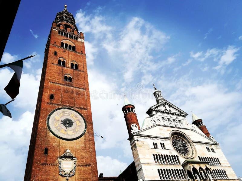 Duomo di Cremona stock photos
