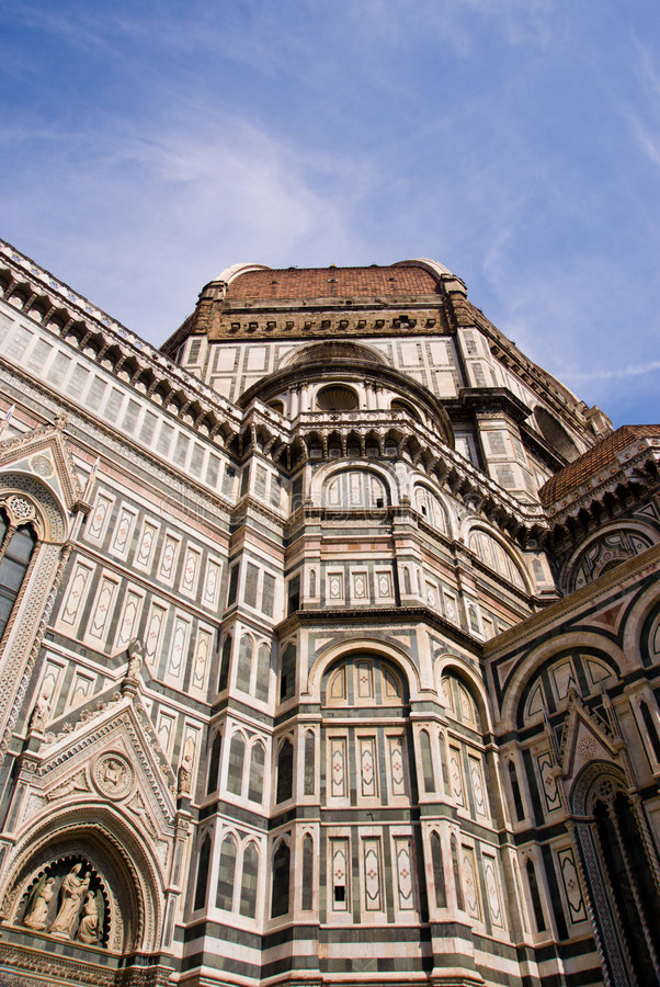 Duomo di Firenze royalty free stock photography