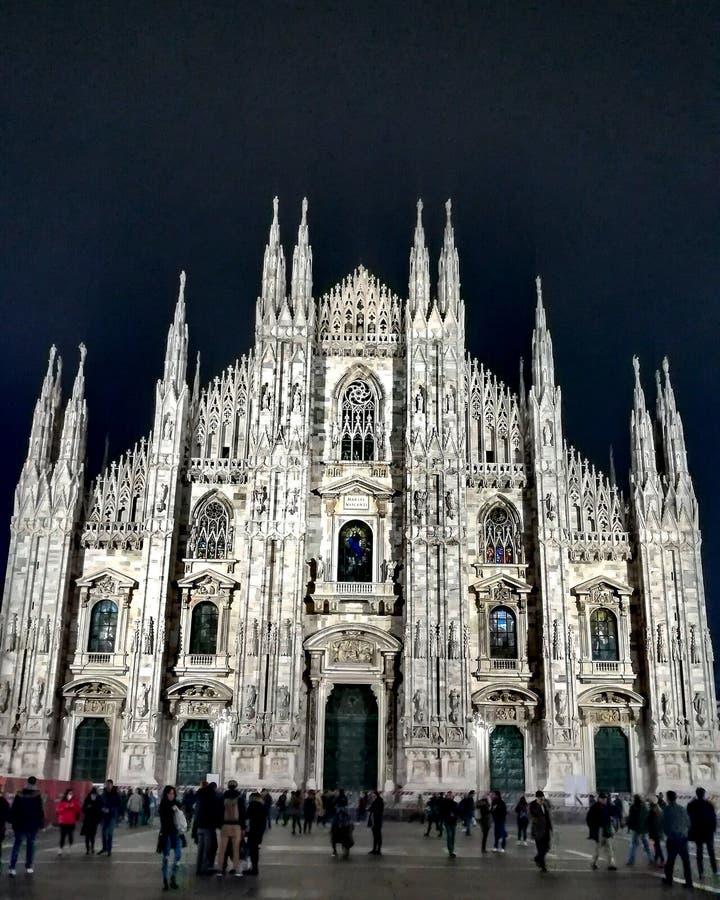 Duomo de Milan stock image