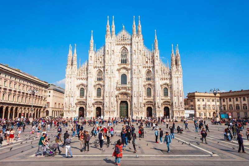 Duomo di Milano katedra, Mediolan zdjęcie royalty free