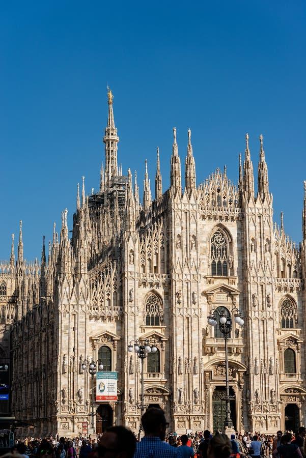 Duomo di Milano - Mediolański Katedralny Lombardy Włochy zdjęcie royalty free