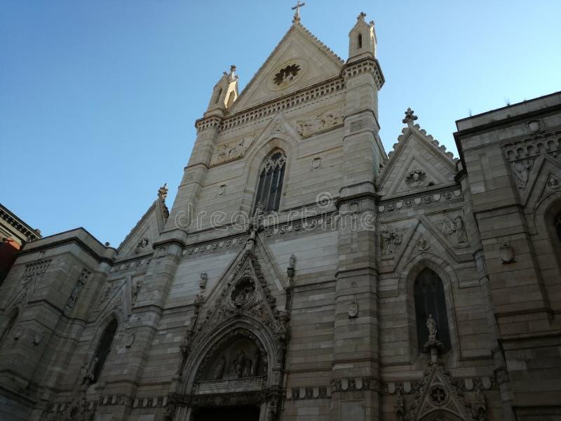 Duomo Di Napoli stock foto