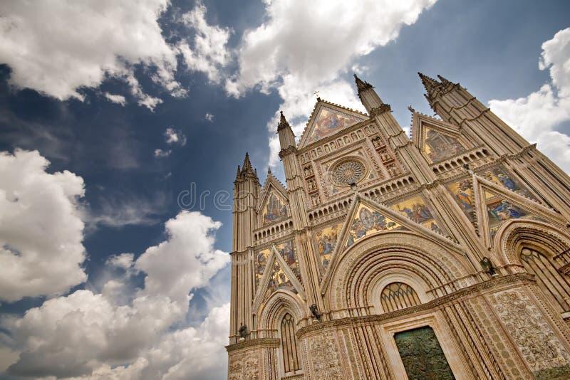 Duomo di Orvieto imagenes de archivo