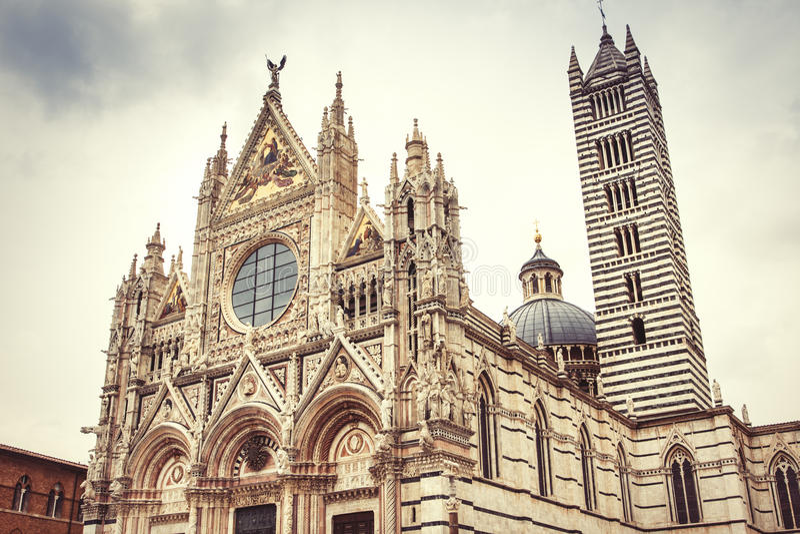 Duomo di Siena immagini stock