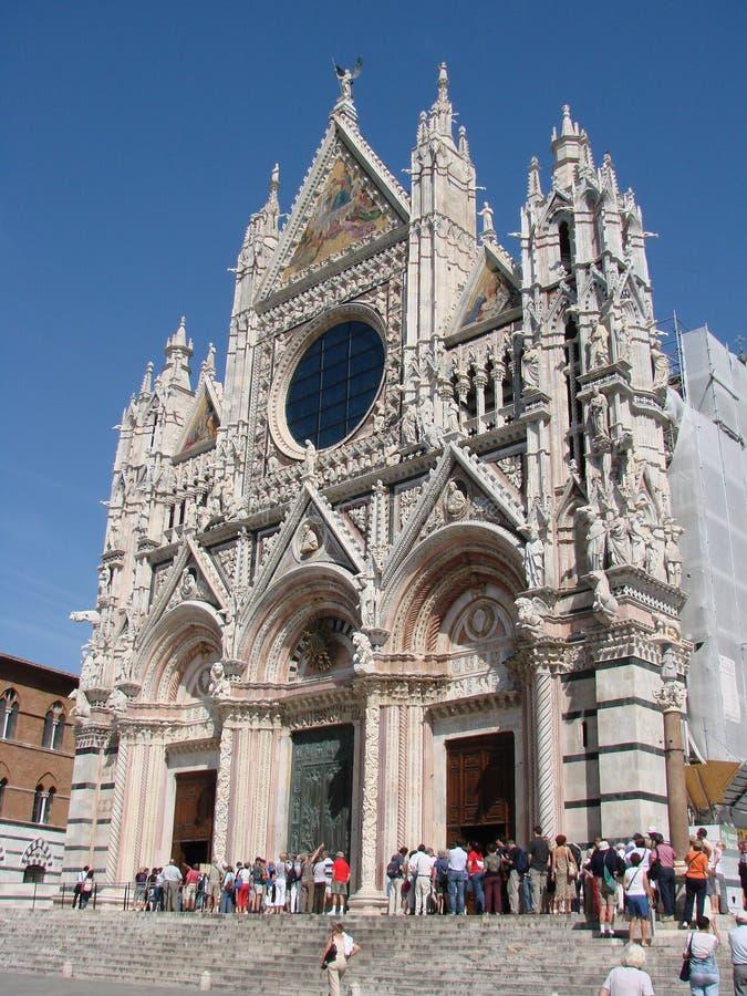 Duomo di Siena immagini stock libere da diritti