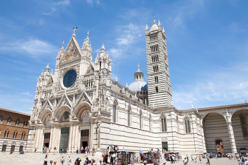 Duomo di Siena fotografia stock libera da diritti