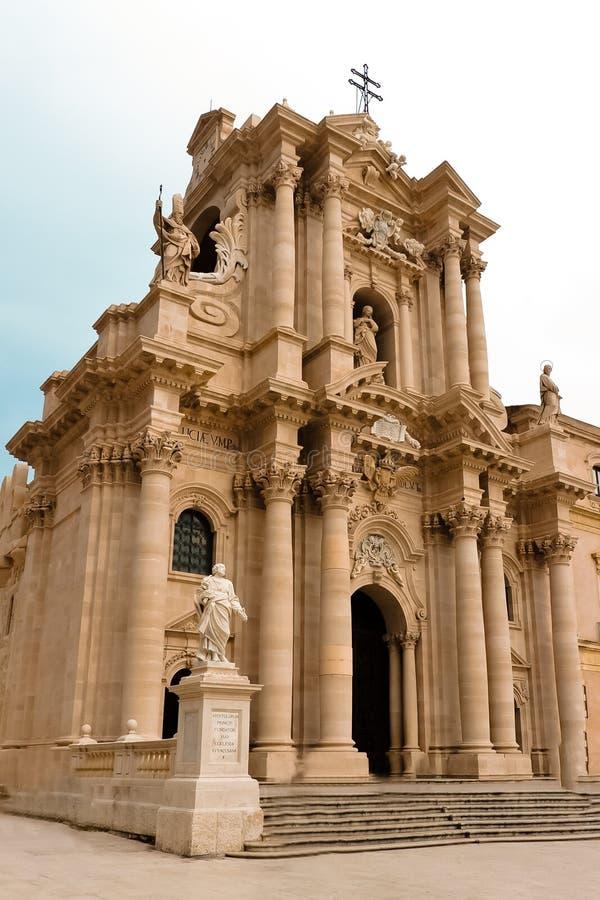 Download Duomo di Siracusa stock photo. Image of greece, culture - 17478466