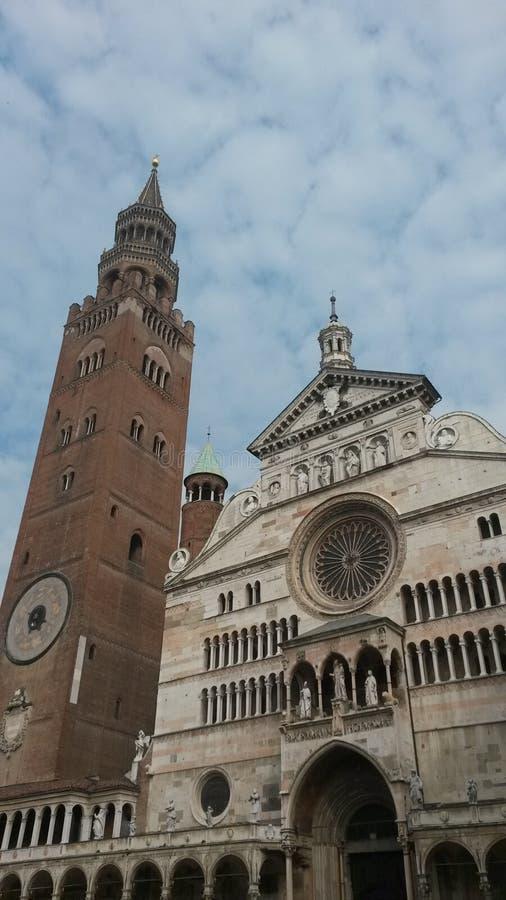 Duomo e torrazzo royalty free stock image