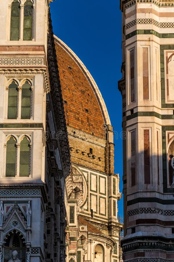 Duomo in Florence, Italië royalty-vrije stock afbeelding