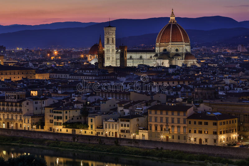 The Duomo - Florence - Italy royalty free stock photos